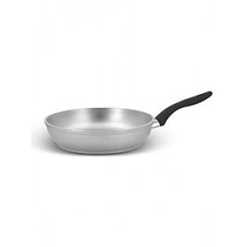 Сковорода с262 260/60мм утолщ.дно,пл.ручка,алюм