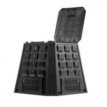 Ящик для компоста (компостер садовый) 420 л Evogreen IKEV420C-S411 чёрный