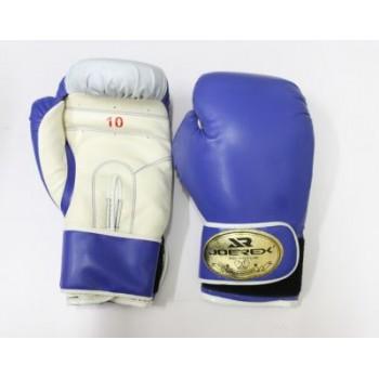 Перчатки боксерские Joerex PU, 10 OZ , синие, JBX110
