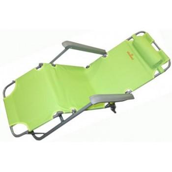 Кресло-шезлонг WoodLand Lounger Oxford К-201 зеленый 0049669