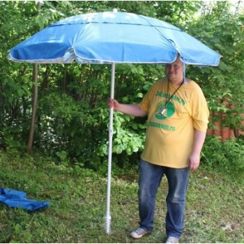 Зонт от солнца со штопором 1281 220 см