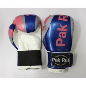 Перчатки боксерские Pak Rus , иск.кожа DX, 10 OZ 12432