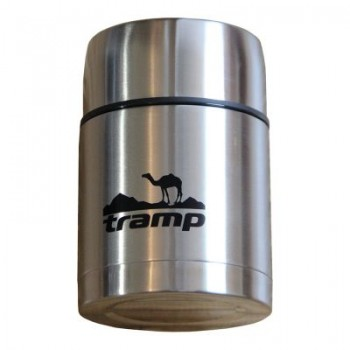Термос с широким горлом 0,7 л. Tramp TRC-078 (серый)