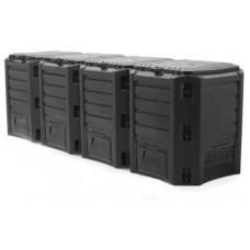 Ящик для компоста (компостер садовый) 1600л Prosperplast Module IKSM1600C-S411 черный