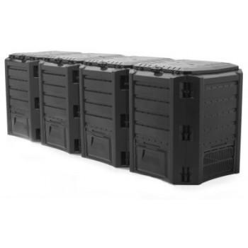 Ящик для компоста (компостер садовый) 1600л Module IKSM1600C-S411 черный