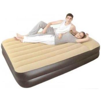 Надувная кровать RELAX HIGH RAISED AIR BED QUEEN 27229EU со встр. эл. Насосом 203x161x51