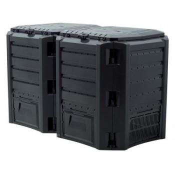Ящик для компоста (компостер садовый) 800л Module IKSM800C-S411 черный