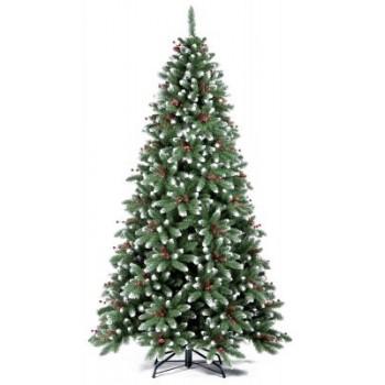 Ель Royal Christmas Seattle заснеженная шишки/ягоды 525180 (180 см)