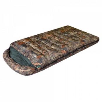 Спальный мешок Prival Берлога 2 КМФ (110см, капюшон, 450 гр./м2) левый, правый