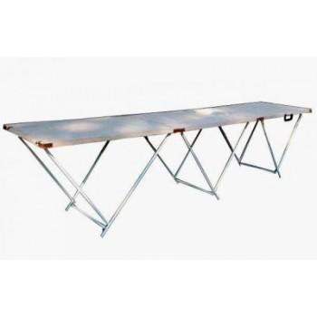 Стол для торговли раскладной 2,7х0,6 м