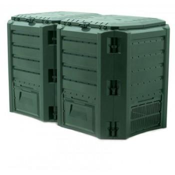 Ящик для компоста (компостер садовый) 800л Module IKSM800Z-G851 зеленый