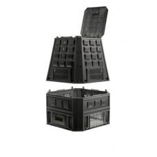 Ящик для компоста (компостер садовый) 850л Prosperplast Evogreen IKEV850C-S411 черный