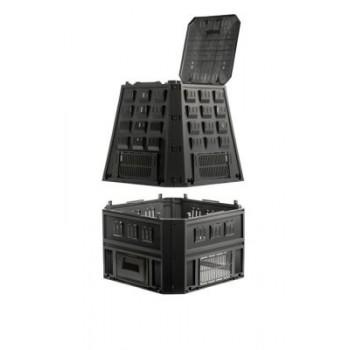 Ящик для компоста (компостер садовый) 850л Evogreen IKEV850C-S411 черный