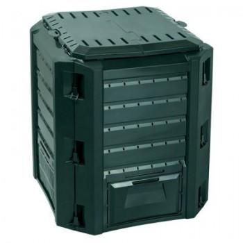 Ящик для компоста (компостер садовый) 380л Prosperplast Compogreen IKST380C зеленый