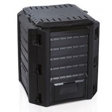 Ящик для компоста (компостер садовый) 380л Compogreen IKST380C черный