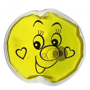 Грелка солевая Колобок желтый